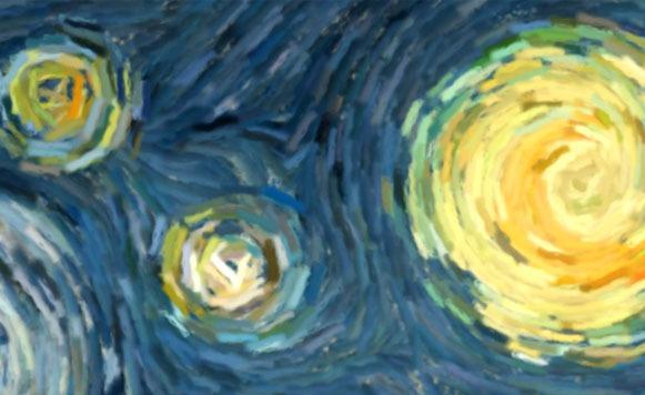 La noche estrellada de Van Gogh interactiva gracias a una app (por Manuel Cosío)