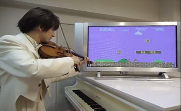 Teppei Okada musicaliza videojuegos con su violín