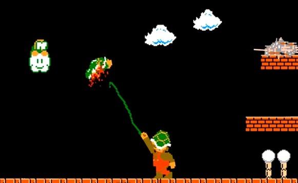 Super Mario gore-un Mario al que le gusta estar todo ensagrentado