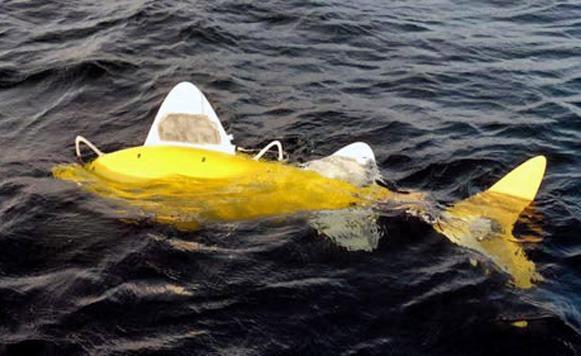 BIOSwimmer-el Atún biónico del Departamento de Seguridad Nacional de EE.UU. (por Manuel Cosío)