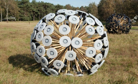 Mine Kafon-arte y diseño para eliminar las minas de Afganistán