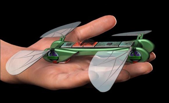 Robot biónico Libélula (por Manuel Cosío)