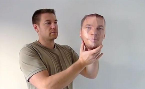 Paper kit, para hacer una copia de tu cara 3D en papel (por Manuel Cosío)