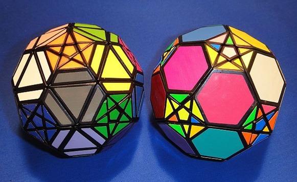 Hipnóticas variantes del Cubo Rubik