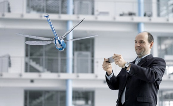 BionicOpter-Robot biónico libélula (por Manuel Cosío)