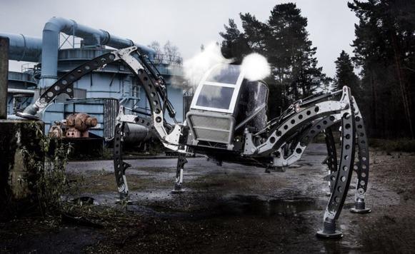 Mantis – Un robot araña gigante tripulable (por Manuel Cosío)