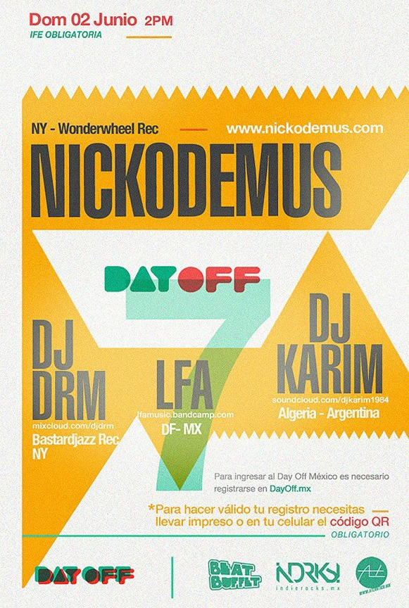 Flyer Day Off 7