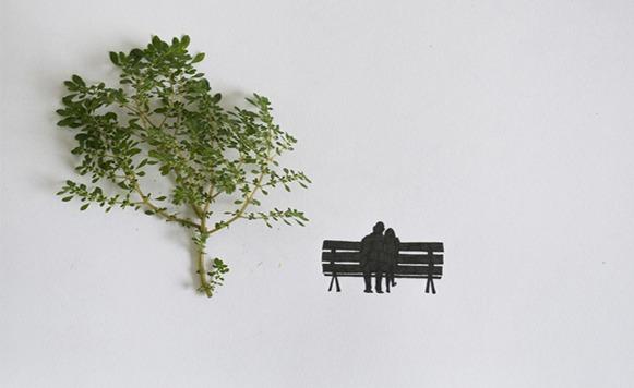 arte con objetos foto 3