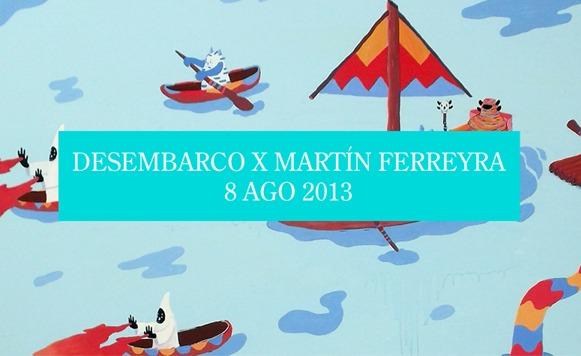 Martín Ferreyra-Desembarco / Exhibición en Kosovo Gallery