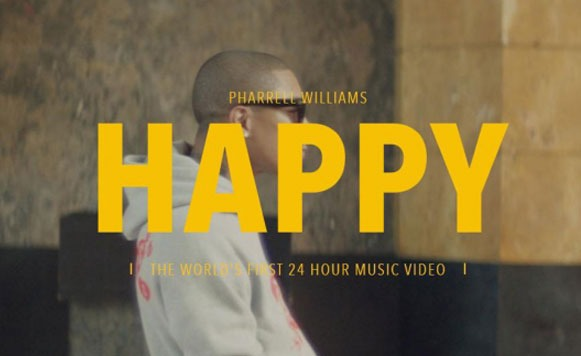Pharrell Williams y su video de 24 hs de duración (por Agus Goya)
