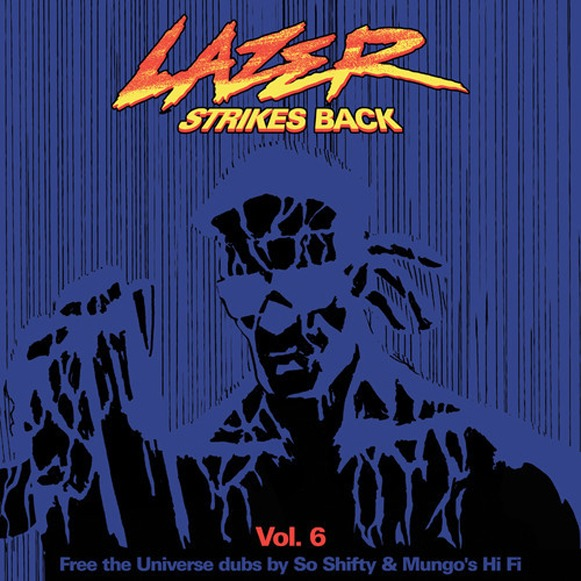 Major Lazer-Lazer strikes back Vol 6