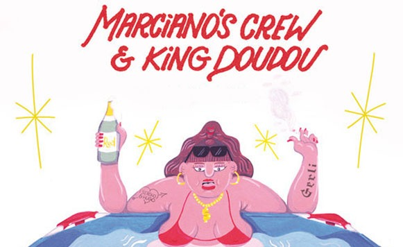 Marcianos-Crew-and-King-Doudou