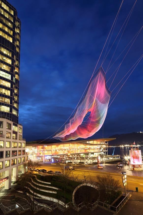 escultura aerea foto 2