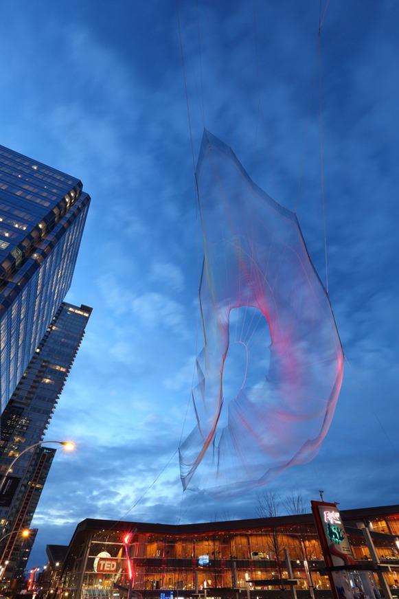 escultura aerea foto 3