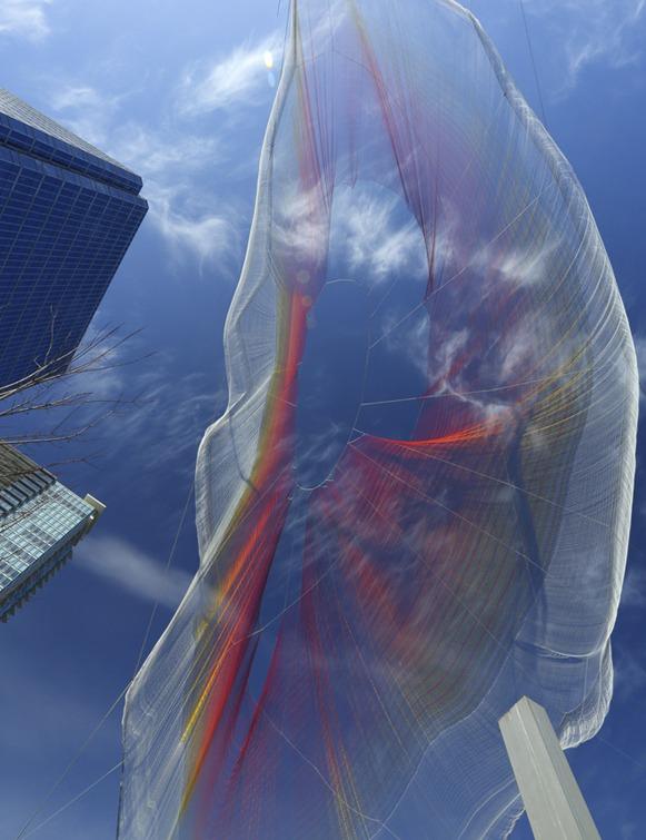 escultura aerea foto 5