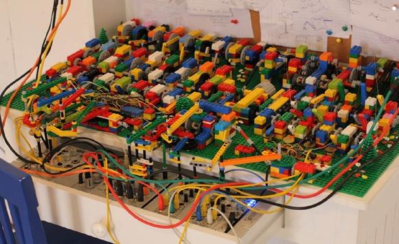 Play House-Música a partir de LEGOs (gentileza de Treska)
