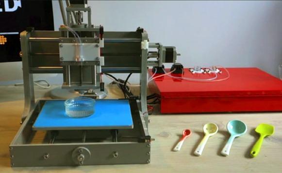 Dovetailed-La primera impresora 3D de fruta (por Manuel Cosío)