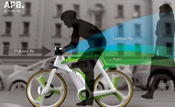 Fotosíntesis Bike-Pedalea mientras limpias el aire (por Iohanna Kuppers)