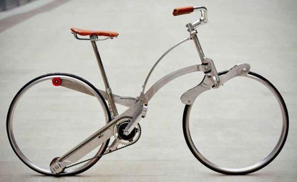 Sada Bike-Maravillosa bicicleta plegable (por Pulpo Caivano)
