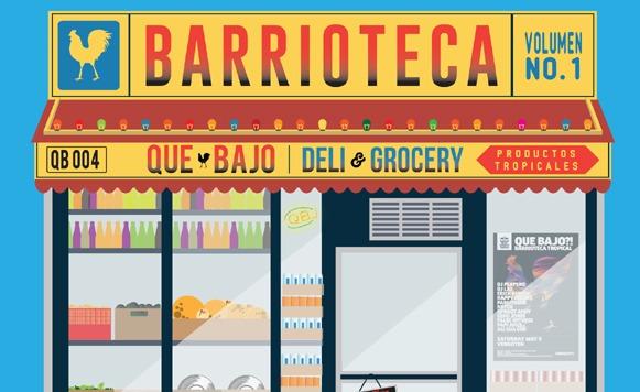 Uproot Andy-Barrioteca EP (por Mario Ramirez – Que Bajo – free DL!)