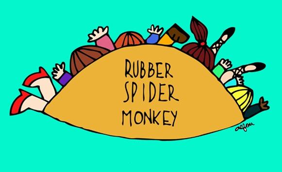 Va-Rubber spider monkey (curado x MYRDAL – Cassette blog 5to aniversario)