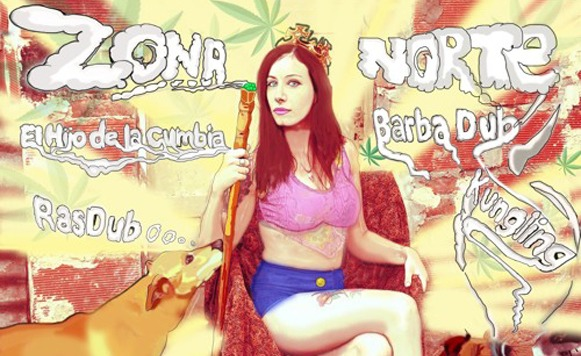 Zona Norte-Queen of the Ghetto (por Alejandro Munive – Wakan Tanka Records – free DL!)