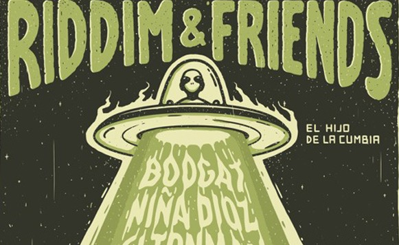 El Hijo de la Cumbia-Riddim and Friends Vol 1 (por Angie Ferrero – Wakan Tanka Records – free DL!)