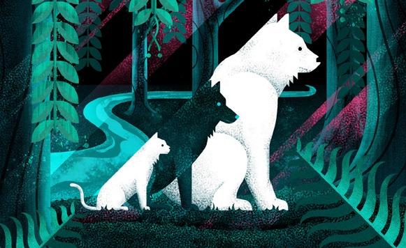 Scott Nice-All The Wild Creatures (por Alejandro Munive – Jumpsuit Records – name your price)